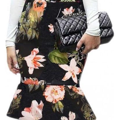 Elegantní midi sukně s různými motivy - 4 varianty
