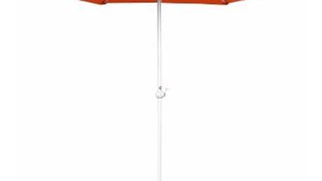 Slunečník s kličkou 230 cm (oranžová)