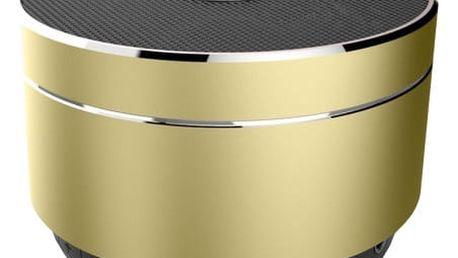 CELLY Speaker, hliníková konstrukce, zlatý - SPEAKERALUGD