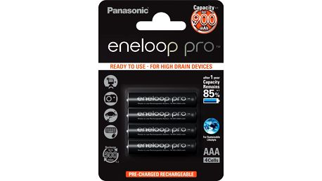 Panasonic 4HCCE/4BE ENELOOP PRO AAA 4x - BK-4HCDE-4BE