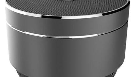 CELLY Speaker, hliníková konstrukce, černo-stříbrná - SPEAKERALUDS