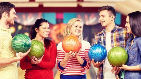 Bowling na profi dráhách až pro 8 hráčů