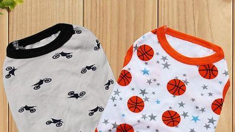 Psí tričko - výběr ze 3 variant