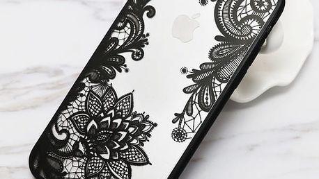 Pouzdro pro iPhone dámské s krajkou - 13 variant