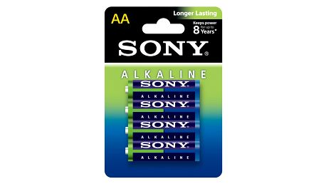 Sony Alkalická baterie LR6 AA 1,5V x4 ECOPACK - AM3L-B4D