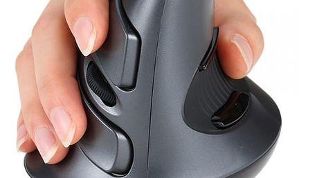 Ergonomická myš DELUX