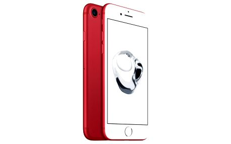 Apple iPhone 7 (PRODUCT)RED 256GB, červená - MPRM2CN/A