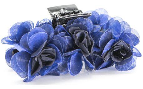 Fashion Icon Skřipec do vlasů kytka textilní