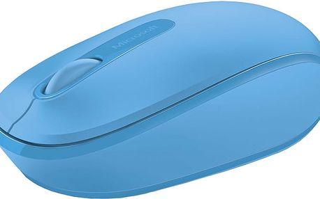 Microsoft Mobile Mouse 1850, modrá - U7Z-00058