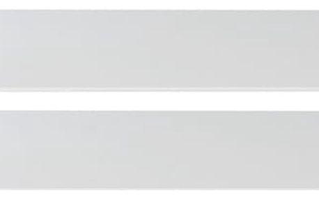 Cariba - Bočnice k dětské postýlce (bílá dub, černá láva)