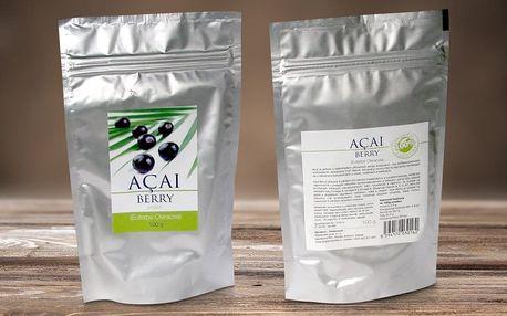 Acai berry: mrazem sušený prášek pomáhá hubnout i držet nemoci od těla