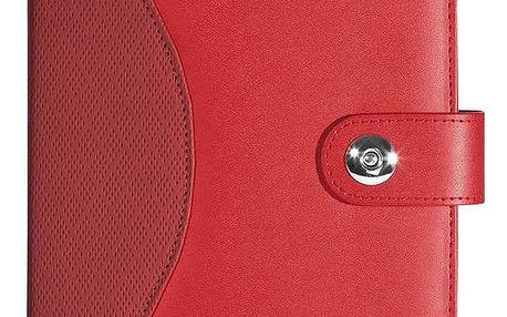 WEDO obal pro tablety mini Universal, červený 7,9''-8,3'' - 58708002 + Belkin iPad/tablet stylus, stříbrný