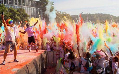 Registrace na barevný běh Spokey Rainbow Run