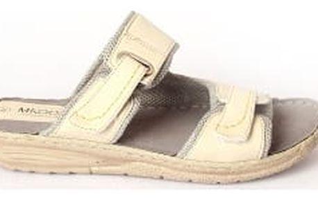 Dámské pantofle MIKOMI béžové