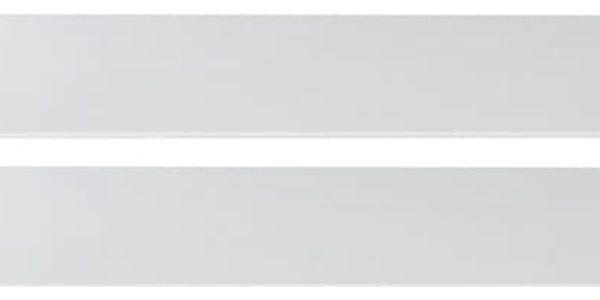 Kimba - Bočnice k dětské postýlce (bílá, dub)