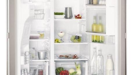 Kombinace chladničky s mrazničkou AEG S66090XNS1 šedá/nerez