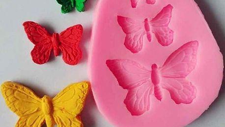 Silikonová motýlí formička - dodání do 2 dnů