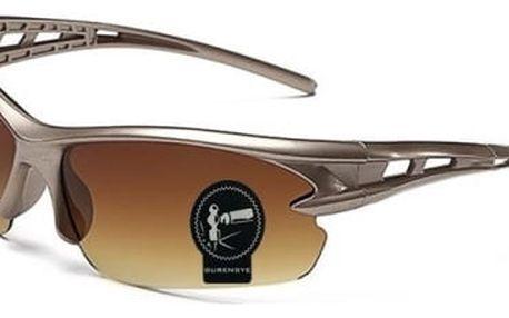 Sportovní sluneční brýle s různě barevnými skly