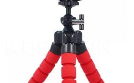 Flexibilní tripod na telefon - Chobotnice - 3 barvy