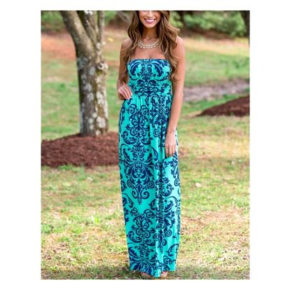 Letní šaty v dlouhém provedení - 4 varianty