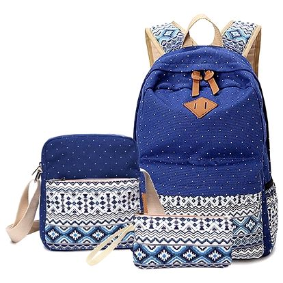 Set batohu a dvou taštiček