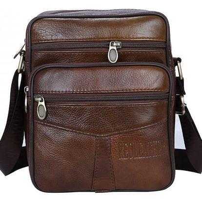 Pánská taška přes rameno z umělé kůže