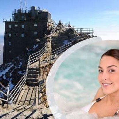 Neomezený wellness pobyt v Tatrách s výhledem na Lomnický štít!