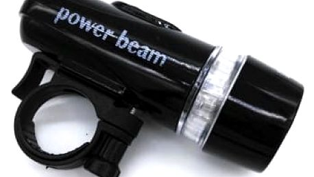 LED světlo na kolo - 5 diod