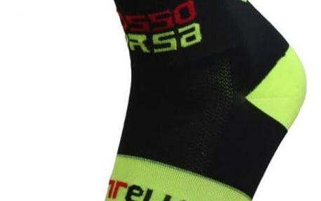 Cyklistické ponožky ve výrazných barvách