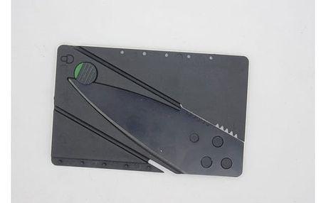Skládací nůž v podobě karty