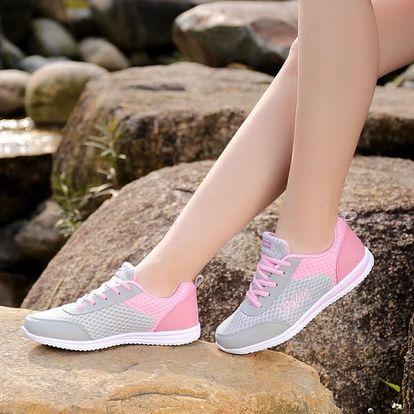 Dámská sportovní obuv v roztomilých barvách