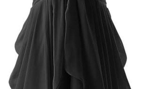 Elegantní volánkové šaty bez ramínek - 3 barvy