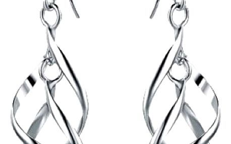 Dámské náušnice - dvojité