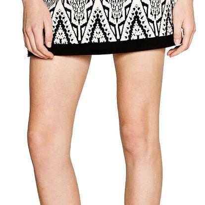 Desigual černo-bílá sukně Attea - 42