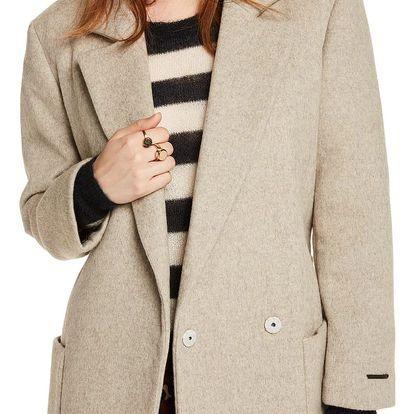 Scotch&Soda elegantní oversize dámský kabát - XS