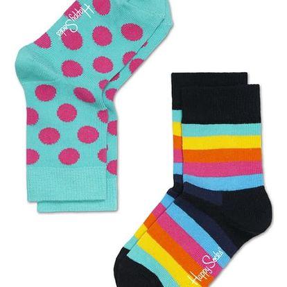 Happy Socks dětské ponožky pestrobarevné - 15-18