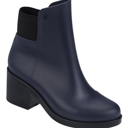 Melissa modré boty Elastic Boot Blue/Black - 39