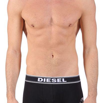 Diesel černé pánské boxerky Shawn - M
