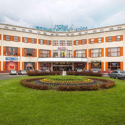 Jarní nebo letní pobyt v hotelu Baťov*** u zlínského Baťova kanálu s polopenzí a programem dle výběru