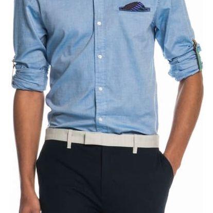 Scotch&Soda modrá pánská košile Patterned - XXL