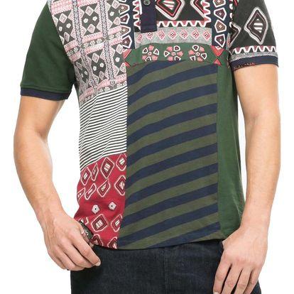 Desigual barevné tričko Victor - L
