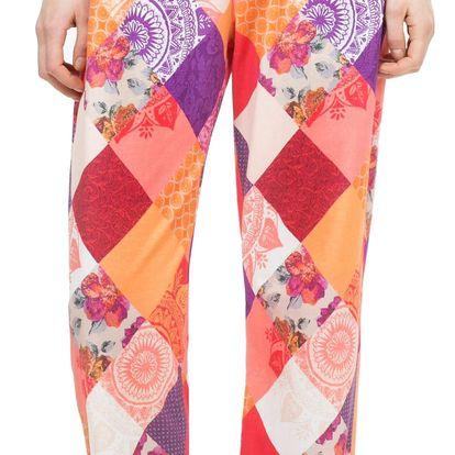 Desigual barevné domácí kahoty Trousers Patch - M