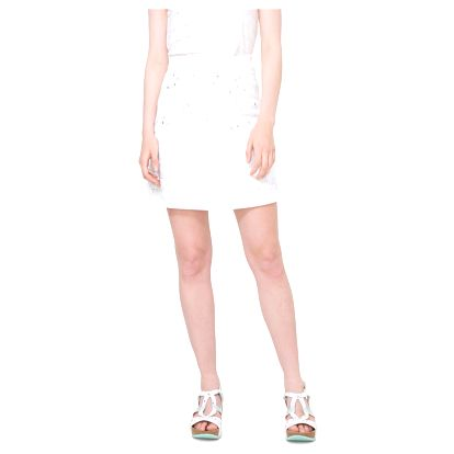 Desigual bílá sukně Lauras - 46