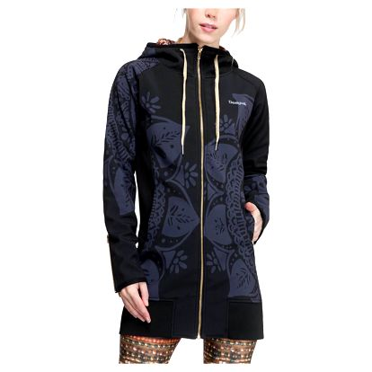 Desigual černý sportovní kabát L Coat G - L