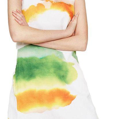 Desigual barevné pouzdrové šaty Nilina - 44