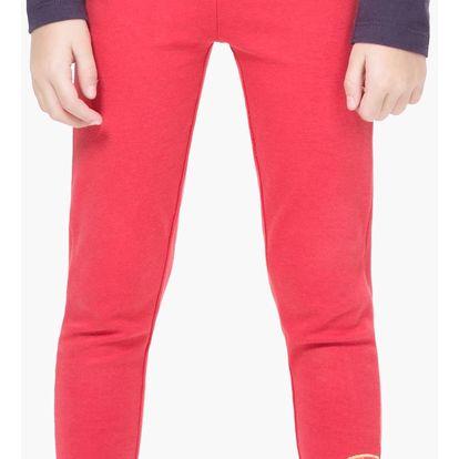 Desigual červené dívčí kalhoty Honey - 13/14