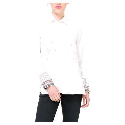 Desigual bílá košile Laia - M
