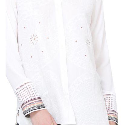 Desigual bílá košile Laia - L