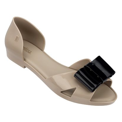 Melissa hnědé sandálky Seduction Brown/Black - 37