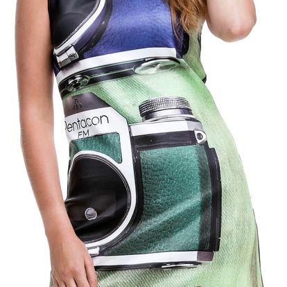 Culito from Spain barevné šaty 3 Camaras - XXL